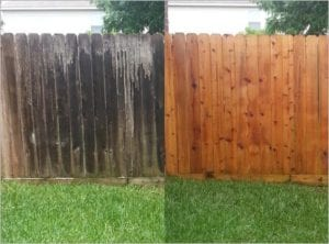 Fence Cleaning and Restoration In Cypress Texas