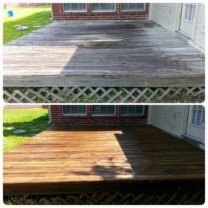 Deck cleaning is good for your deck, your curb appeal, and your investment.