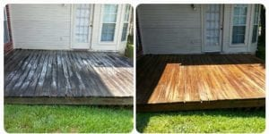 Deck Cleaning and Sealed. Call Today for your Deck Cleaning.