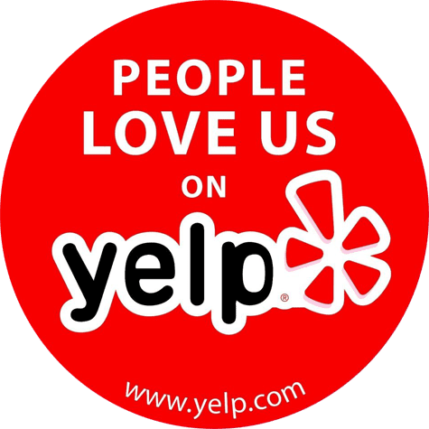 People Love Us On Yelp - 5 Star Reviews