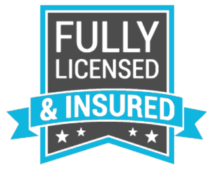 Fully Licensed & Insured Logo
